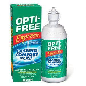 Alcon Opti free Express kontaktlencse ápolószer 120ml