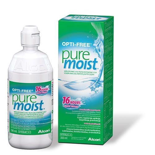 Opti free PureMoist kontaktlencse ápolószer 2x300ml