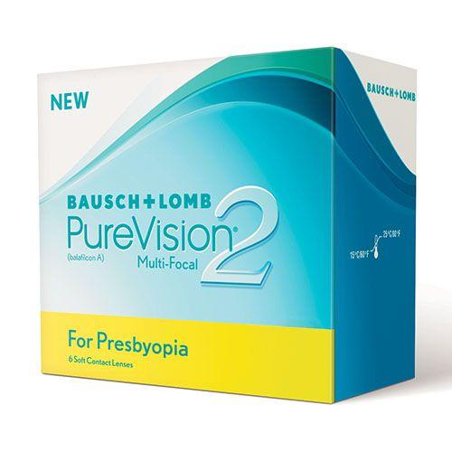 Bausch & Lomb PureVision2 Presbyopia kontaktlencse 6db