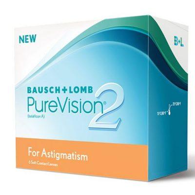Bausch & Lomb PureVision2 Astigmatism tórikus kontaktlencse 6 db
