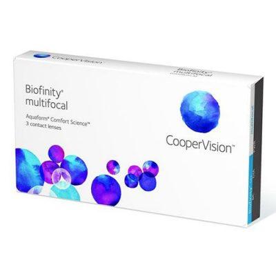 CooperVision Biofinity Multifocal havi kontaktlencse (3db)